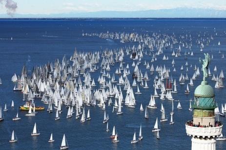 regata velica Barcolana Trieste 2011
