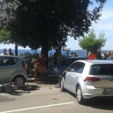 ph. Trieste Prima accident in Barcola