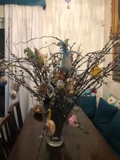 Fogazzaro family Easter Tree