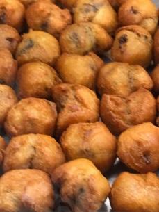 frittole with raisins