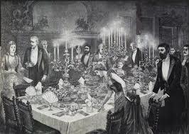 ph depicting Victorian life & food on internet