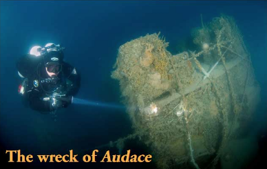 Ph. Nautica Mare https://www.nauticamare.it/tech-diving/spedizione-audace-2009.html